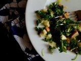 Winter Kale Salad with Apples and Pecorino Romano