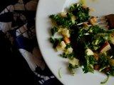 Winter Kale Salad with Apples and PecorinoRomano